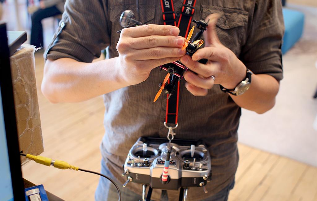 Fixing another broken rotor.
