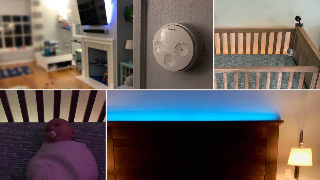 Various Hue lighting setups