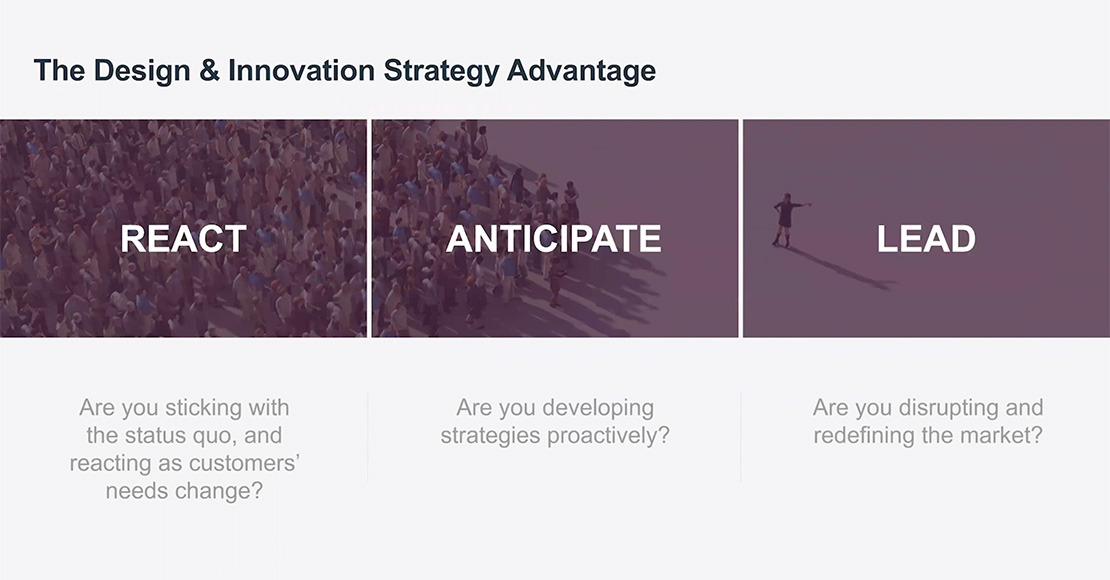 the design and innovation strategy advantage