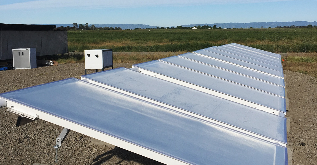 SkyCool Systems created an innovative technology that could be added to cooling systems to make them more efficient