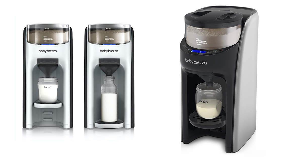 Baby Brezza is like a Keurig for baby formula.