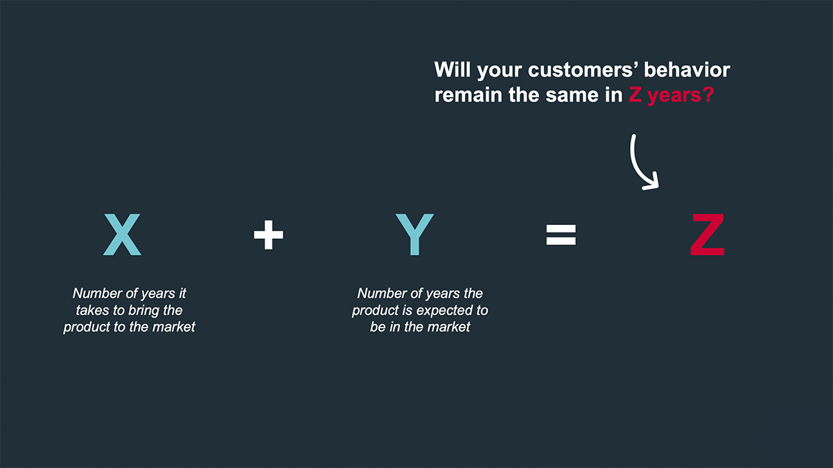 Customer foresight is important because consumers are constantly evolving.