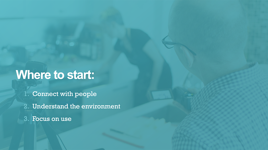 Digital-physical workflows start with understanding your user.